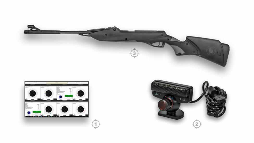 Лазерный тир электронный ⋆ТИР ЭЛЕКТРОН⋆ комплект 2
